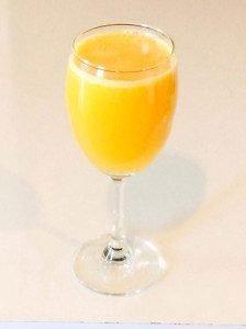 orange and mango juice
