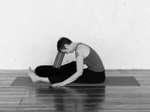 Paschimattanasana-support