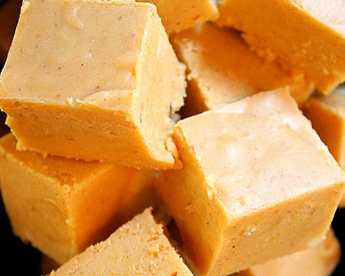 Pumkin pie fudge