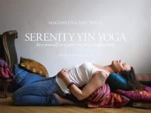 Serenity Yin Yoga book cover
