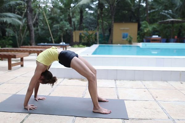 Urdhva Dhanurasana with Laruga Glaser