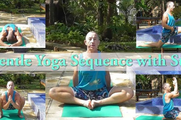 Gentle yoga sequence with Stu