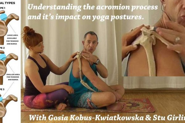 acrromion process and yoga